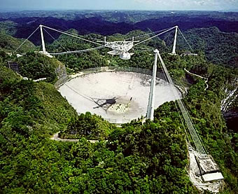 Arecibo Observatory, World's Largest Radio Telescope